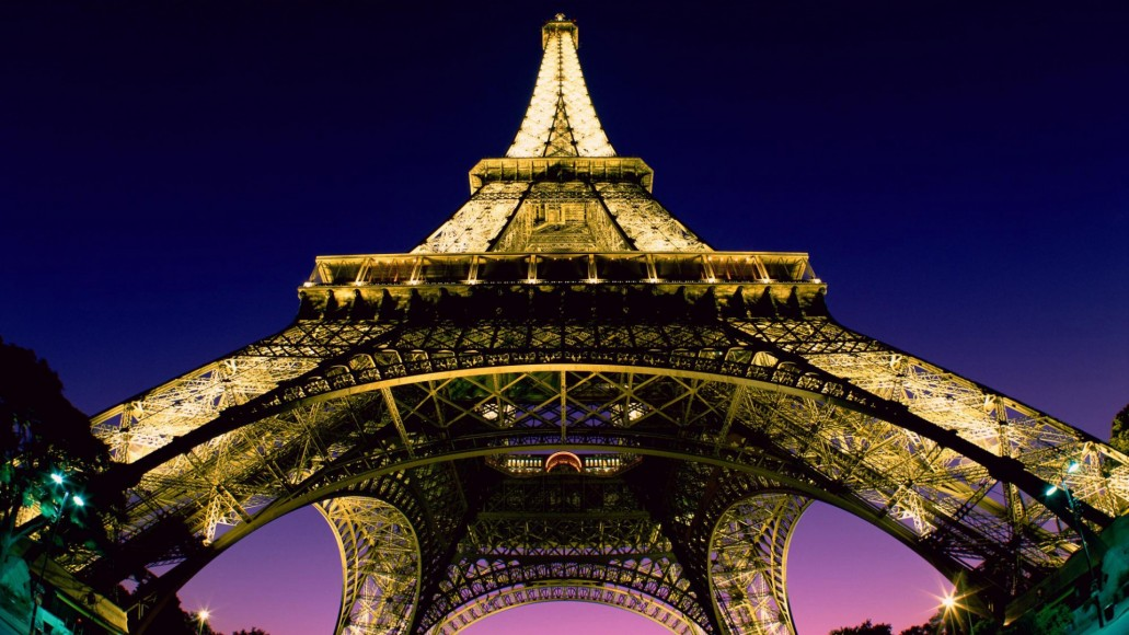 The Eiffel Tower looks even better at night. Check it out!