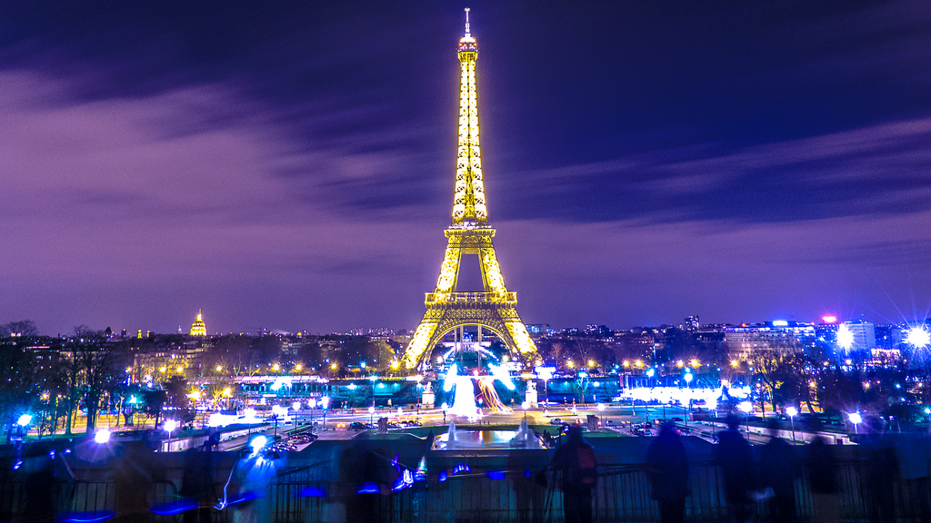 Visit the magical city by night.